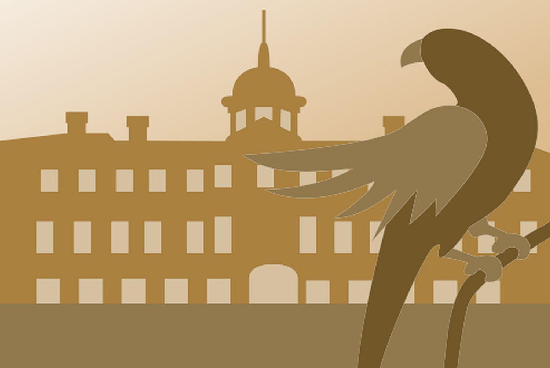Symbol für Standardführungen in Schloss Favorite Rastatt; Illustration: Staatliche Schlösser und Gärten Baden-Württemberg, JUNG:Kommunikation GmbH