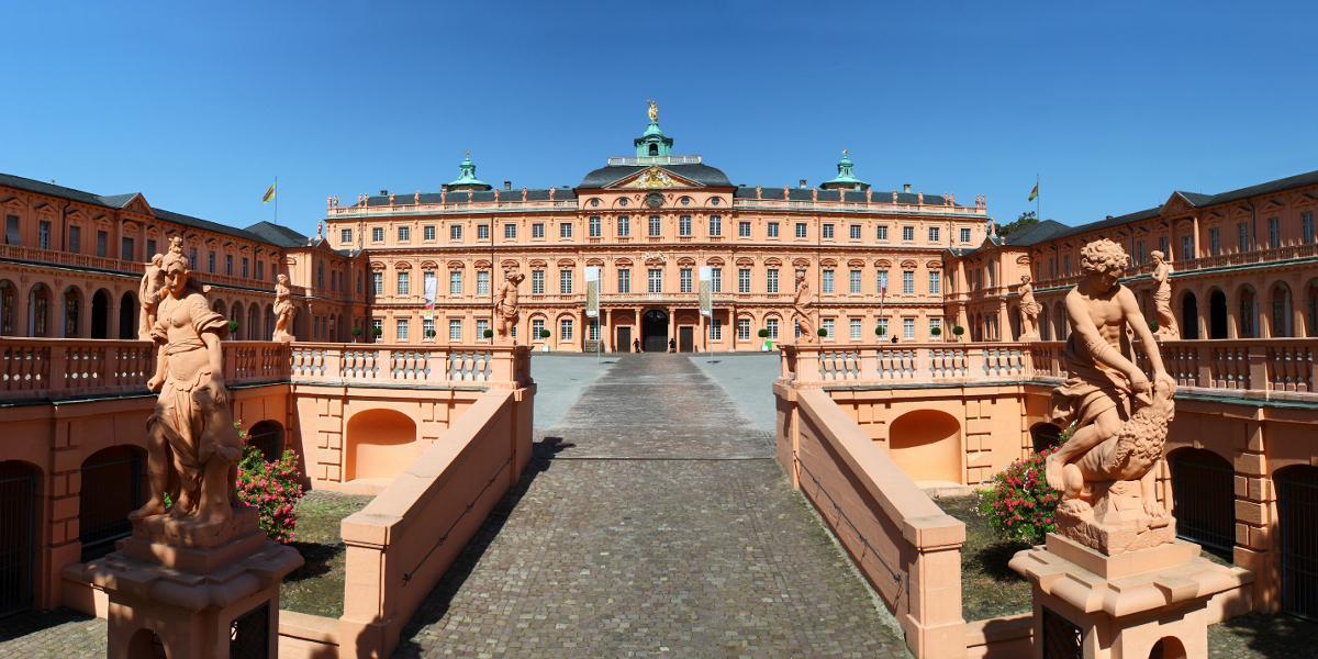 Residenzschloss Rastatt,; Foto: AERO-SÜDWEST, Monika Schlangen