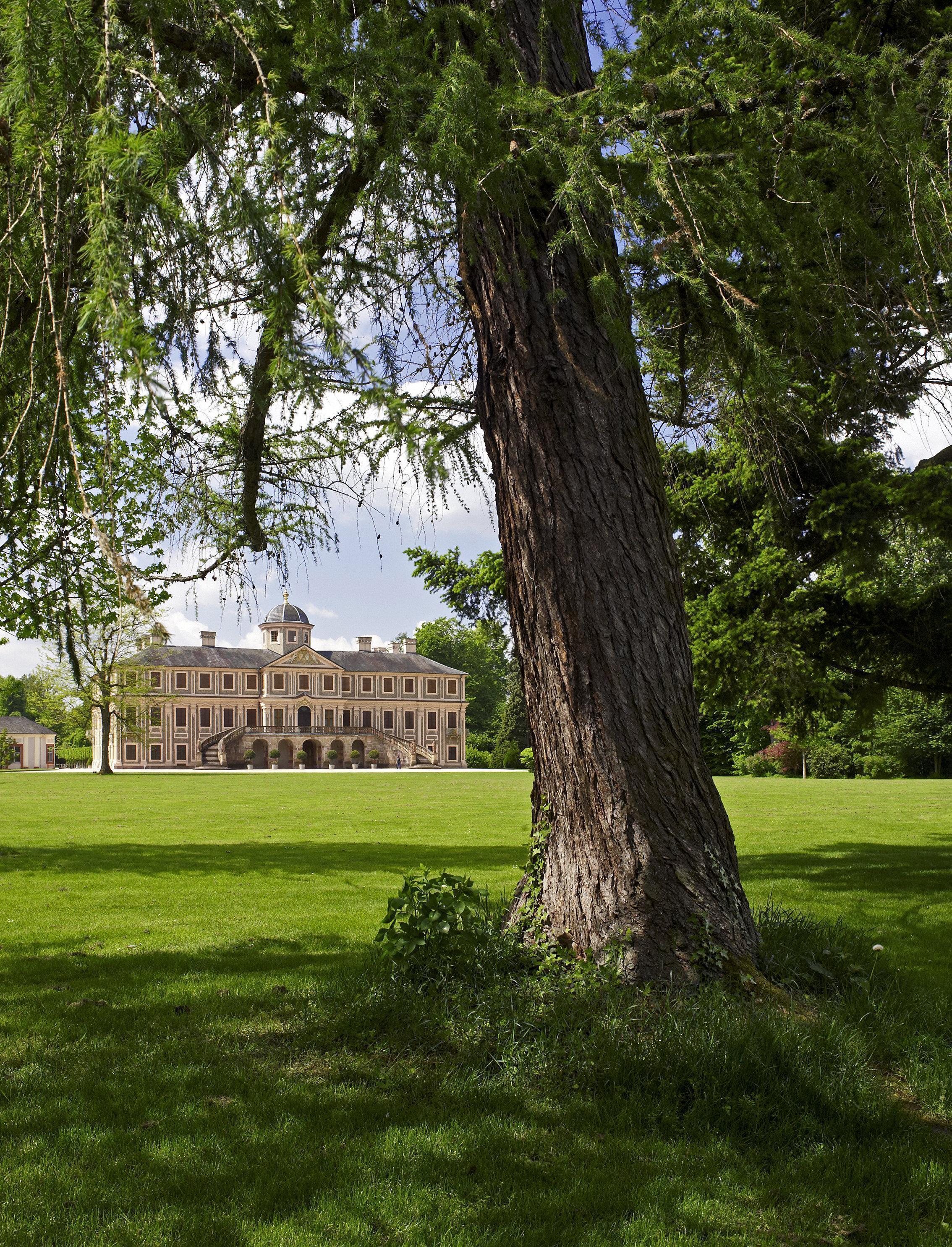 Schlossgarten Favorite Rastatt; Foto: Staatliche Schlösser und Gärten Baden-Württemberg, Andrea Rachele
