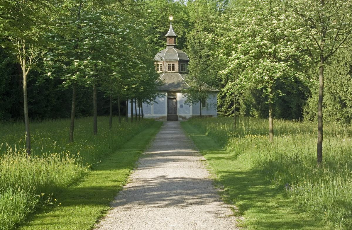 Image: The hermitage in the palace garden, Rastatt Favorite Palace