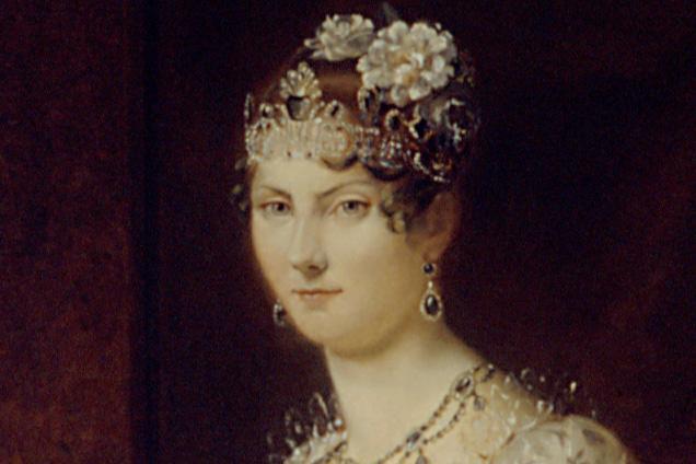 Porträt Stéphanie de Beauharnais; Foto: Staatliche Schlösser und Gärten Baden-Württemberg, Steffen Hauswirth