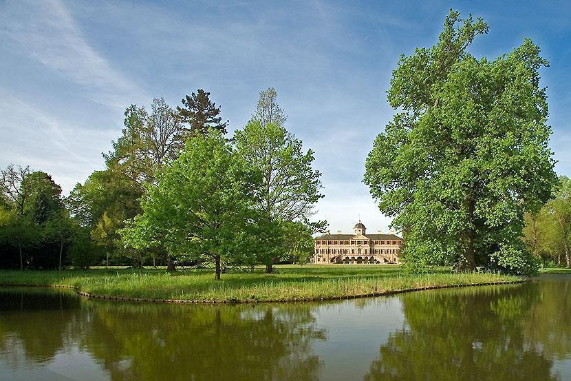 Château de la Favorite de Rastatt; crédit photo: Staatliche Schlösser und Gärten Baden-Württemberg, AndreaRachele