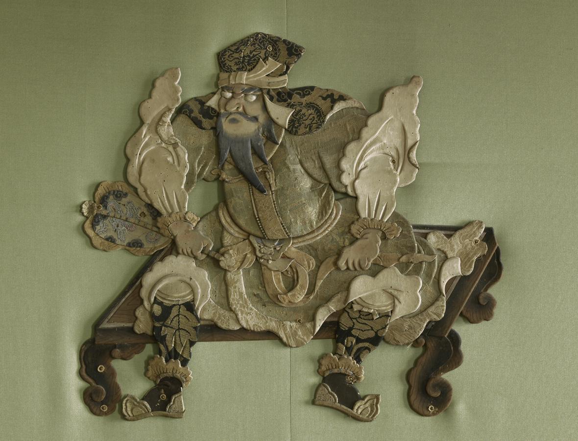 Detail aus dem Grünen Saal in Schloss Favorite Rastatt; Foto: Staatliche Schlösser und Gärten Baden-Württemberg, Martine Beck-Coppola