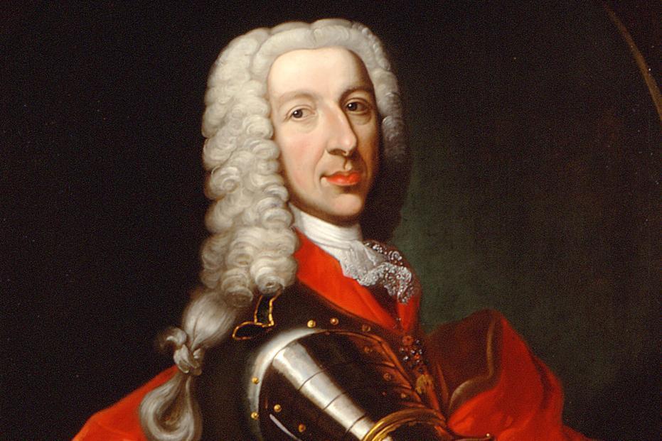 Portrait of Margrave Ludwig Georg von Baden-Baden. Image: Staatliche Schlösser und Gärten Baden-Württemberg, Ina Friedrich