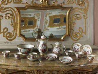 Château de la Favorite de Rastatt, Porcelaine