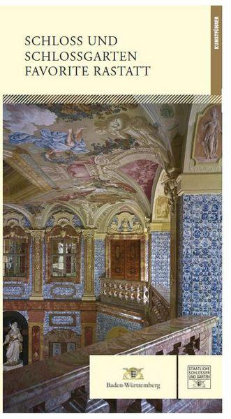 """Titel des Kunstführers """"Schloss und Schlossgarten Favorite Rastatt""""; Gestaltung: Staatliche Schlösser und Gärten Baden-Württemberg, JUNG:Kommunikation GmbH"""