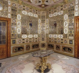 View of the Florentine cabinet, Rastatt Favorite Palace. Image: Landesmedienzentrum Baden-Württemberg, Lutz Hecker