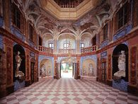 Schloss Favorite Rastatt, Sala Terrena