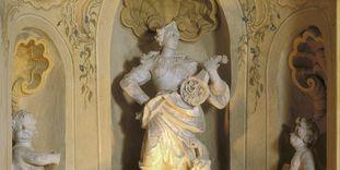 Sculpture in the garden hall at Rastatt Favorite