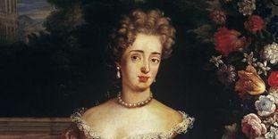 Portrait of Margravine Sibylla Augusta von Baden-Baden.