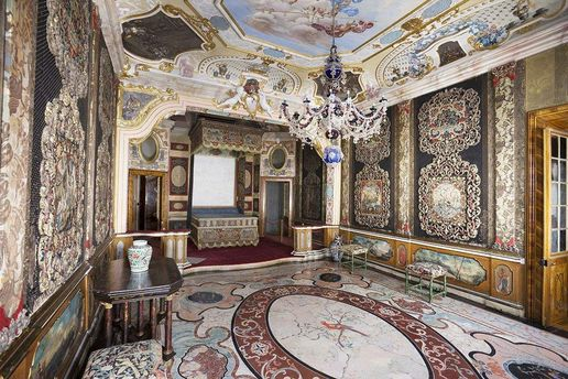 Rastatt Favorite Palace, A look inside the state bedroom