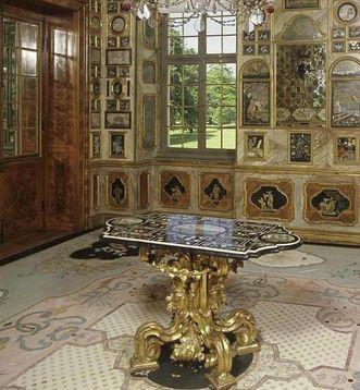 Florentiner Kabinett in Schloss Favorite Rastatt; Foto: Staatliche Schlösser und Gärten Baden-Württemberg; Foto: Landesmedienzentrum Baden-Württemberg, Lutz Hecker