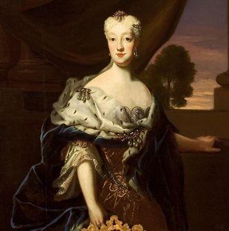 Portrait of Maria Josepha von Bayern. Image: Staatliche Schlösser und Gärten Baden-Württemberg, Arnim Weischer