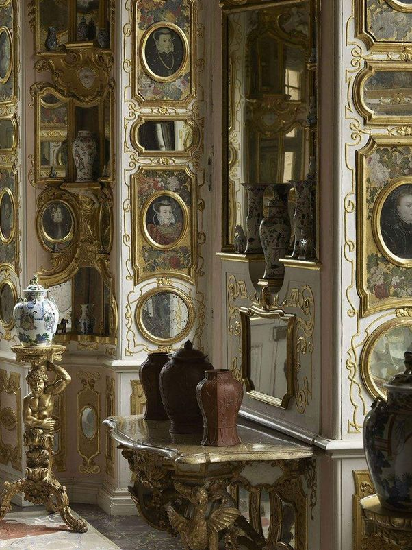 Rastatt Favorite Palace, A look inside the Hall of Mirrors
