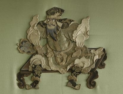 Detail aus dem Grünen Saal in Schloss Favorite Rastatt