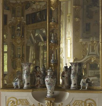 Image: Hall of mirrors, Rastatt Favorite Palace