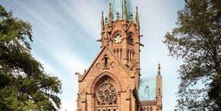 chapelle funéraire des grands-ducs de Karlsruhe, Vue aérienne