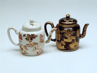 Schloss Favorite Rastatt, Paar Teekännchen
