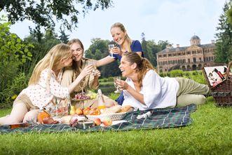 Picknick im Schlossgarten