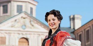 Gästeführerin von Schloss Favorite Rastatt