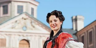Tour guide, Rastatt Favorite Palace.