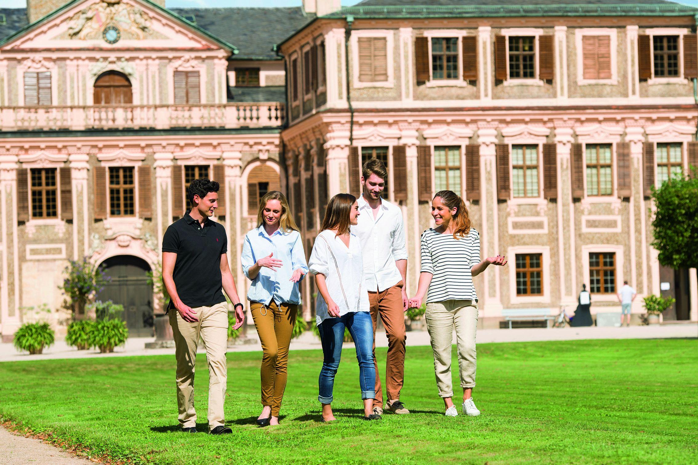 Schloss Favorite Rastatt, Besucher