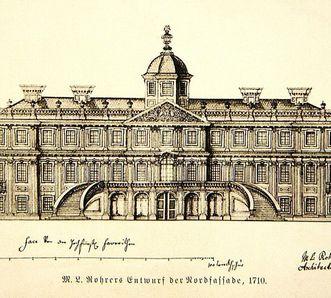Image: Draft of the plan for Rastatt Favorite Palace