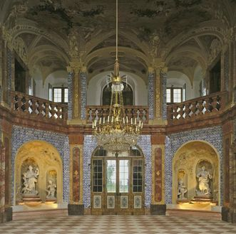 Sala Terrena in Schloss Favorite Rastatt