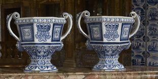 Delft glazed earthenware, Rastatt Favorite Palace.